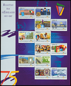 Irland - 75 år Republik - Postfrisk ark