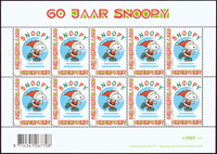 Holland - Nuser - Postfrisk 10-ark