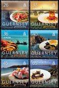 Guernesey - Gastronomie 2005 Crabe - Série neuve 6 v.