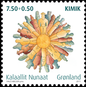 Groenland - Kimik - Timbre neuf
