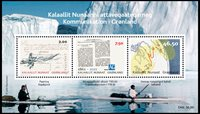 Greenland - Communication - Souvenir sheet mint
