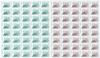 Groenland - Timbres d'usage courant - Série de feuilles neuves