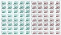Greenland - Definitives - Set of mint sheetlets