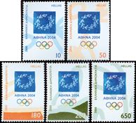 Grækenland - OL Athen 2004 - Postfrisk sæt 6v