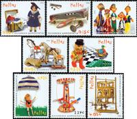 Grækenland - Legetøj - Postfrisk sæt 8v