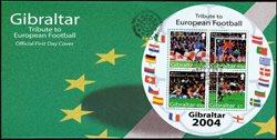 Gibraltar - Football Euro 2004 - Env.premier jour avec BF rond