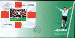 Gibraltar - Football Euro 2004 - Env.premier jour avec BF