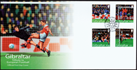 Gibraltar - Football Euro 2004 - Env.premier jour
