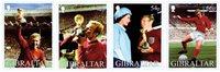 Gibraltar - Coupe du Monde Football - Série neuve 4 v.