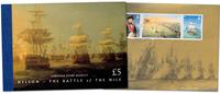 Gibraltar - Slaget om Nilen - Flot prestigehæfte