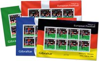 Gibraltar - UEFA European Championship - Mint set of sheets of 8