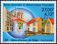 French Antarctic - Administration building - Mint 1v
