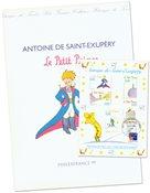 France - Le Petit Prince - Présentation souvenir avec gravure et BF obl.