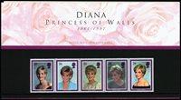 Grande-Bretagne - Princesse Diana - Présenation souvenir