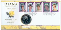 Great Britain - Princess Diana - Numiscover with nice coin