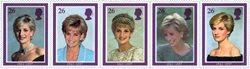 Grande-Bretagne - Princesse Diana - Série neuve 5v