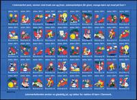 Danmark - Julemærket 2011 - Postfrisk ark