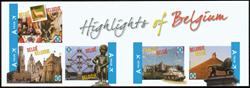 Belgien - Højdepunkter i Belgien - Postfrisk hæfte