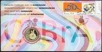 Belgien - Cobrakunst - Flot møntbrev