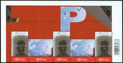 Belgique - Liberté de Presse - Bloc-feuillet neuf