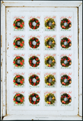 Aland - Chiudilettera Natale 2011 - foglio chiudilettera nuovo