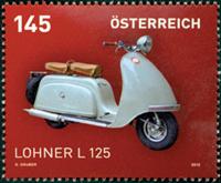 Østrig - Motorcykler - Postfrisk frimærke