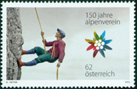 Austria - Alpine association - Mint stamp
