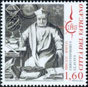 Vatikanet - Hristophorus Clavius - Postfrisk frimærke