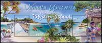 Vanuatu - Mystery Island - Postfrisk miniark