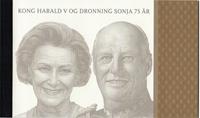 Norge - Kongepar - Norges første prestigehæfte - Postfrisk prestigehæfte - oplag 12.500