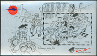 Malaysia - Tegneserie - Postfrisk miniark