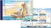 Jersey - Postskibe - Postfrisk prestige hæfte