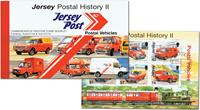 Jersey - Postbiler - Stemplet prestigehæfte