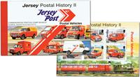 Jersey - Histoire de la Poste, véhicules postaux - Carnet neuf
