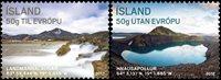 Island - Turisme - Postfrisk sæt 2v