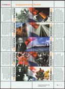 Holland - Det 20. århundrede - Postfrisk miniark