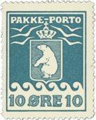 Grønland - Pakkeporto - AFA nr. 15 postfrisk