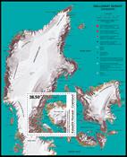 Greenland - Modern art - Mint souvenir sheet