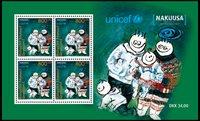 Grønland - Unicef/Nakuusa - Postfrisk miniark