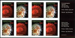 Faroe Islands - Sea anemones - Mint booklet adh.