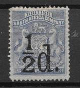 Colonias Británicas 1892 - Michel  12 - Con charnela