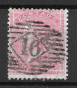 Englanti 1855 - AFA 13 - Leimattu