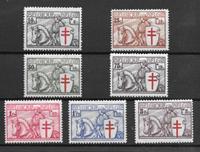 Bélgica 1934 - AFA 385-91 - Con charnela