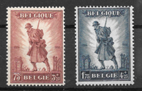 Bélgica 1932 - AFA 341-42 - Con charnela