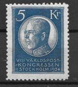 Suède 1924 - AFA 173 - Neuf avec charniere