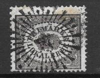 Ruotsi 1856 - AFA 6 - Leimattu