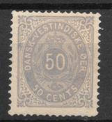 Antillas danesas 1879 - AFA 13 - Con charnela