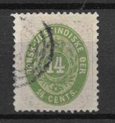 Antillas danesas 1873 - AFA 9 - Usado