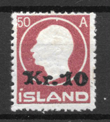 Islanti 1930 - AFA 119 - Postituoreita
