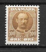 Danimarca 1907 - AFA 59 - Nuovo linguello